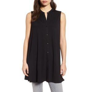 Eileen Fisher Black Jersey Tunic